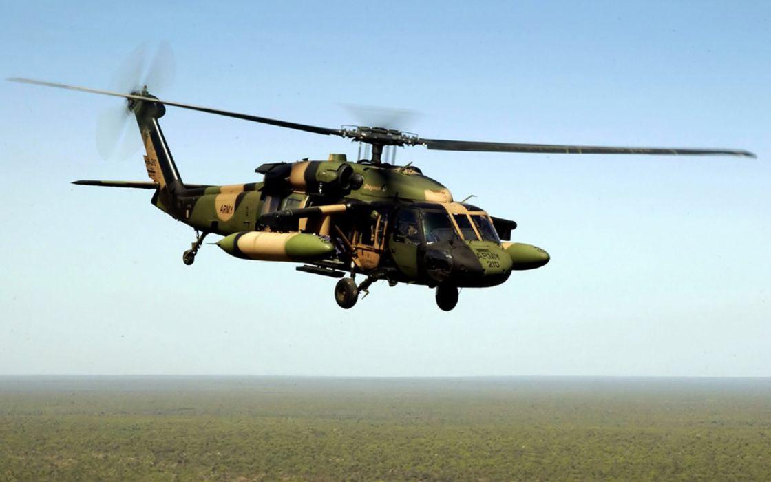 helicoptero militar vuelo aire wallpaper