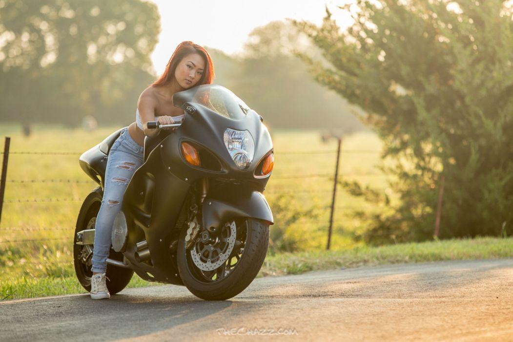 Motorcycle Motorbike Bike Custom Tuning Suzuki Hayabusa