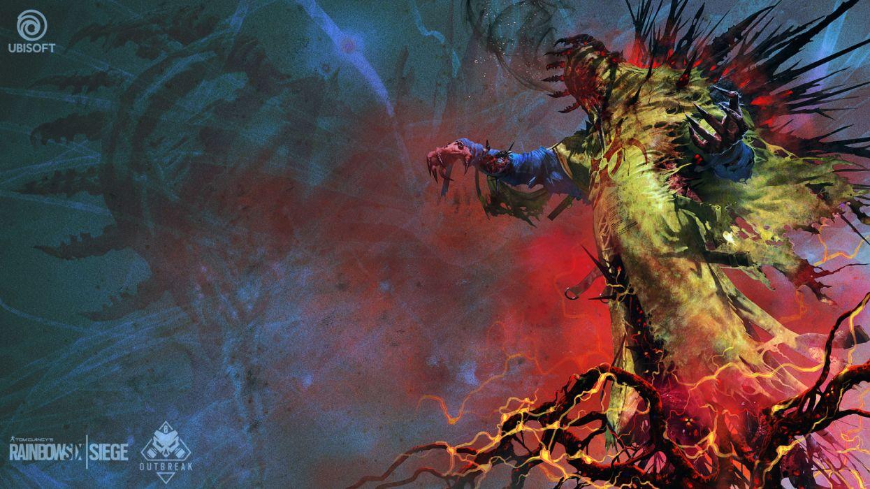 Creature Dark Tom Clancys Rainbow Six Siege N Wallpaper