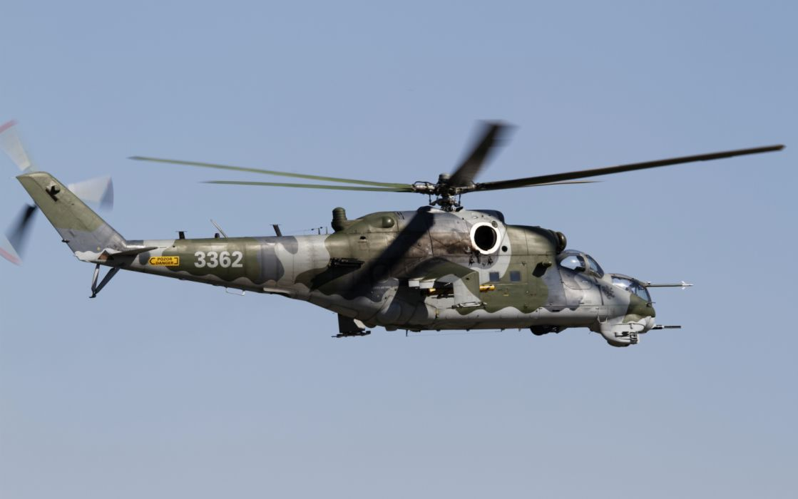 Aircraft Helicopter Mil Mi-35 military wallpaper