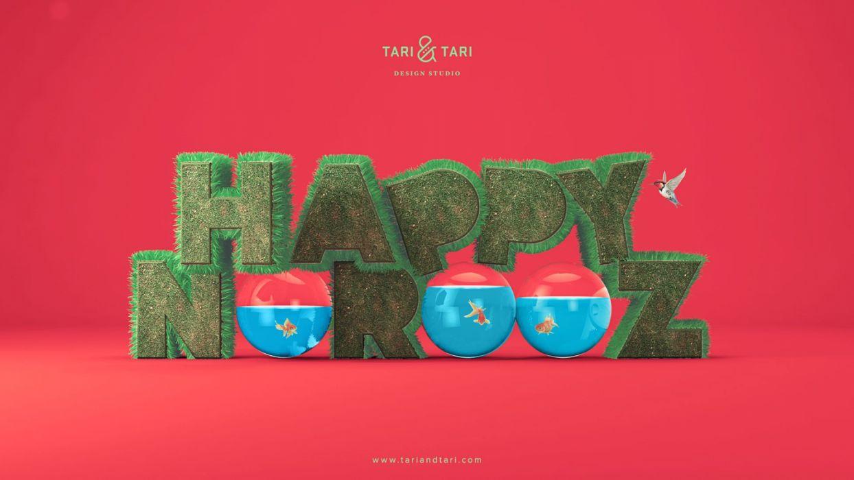 happy nowruz teams background