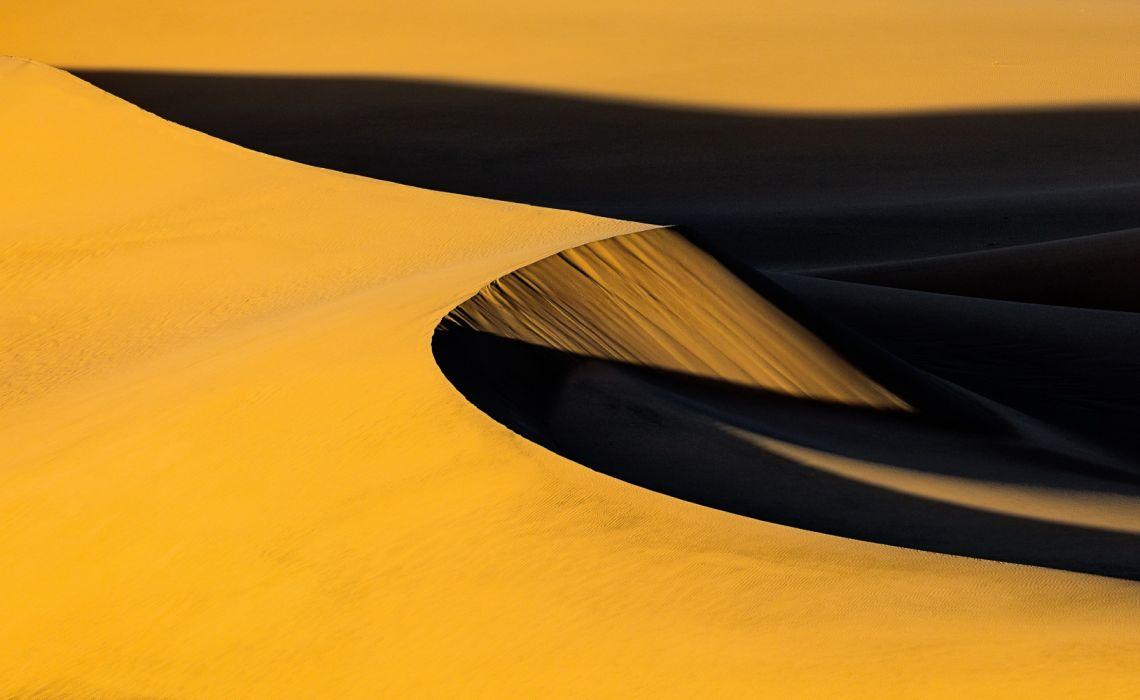 Desert Dune Sand Shadow wallpaper