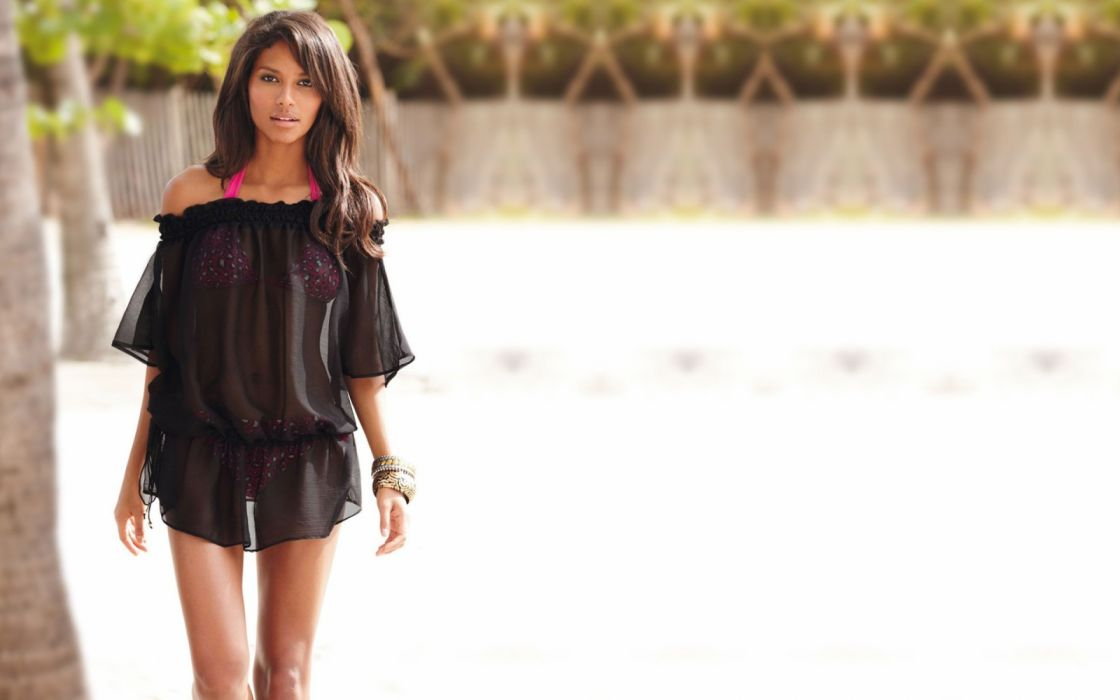 Emanuela de Paula women model brunette bikini wallpaper