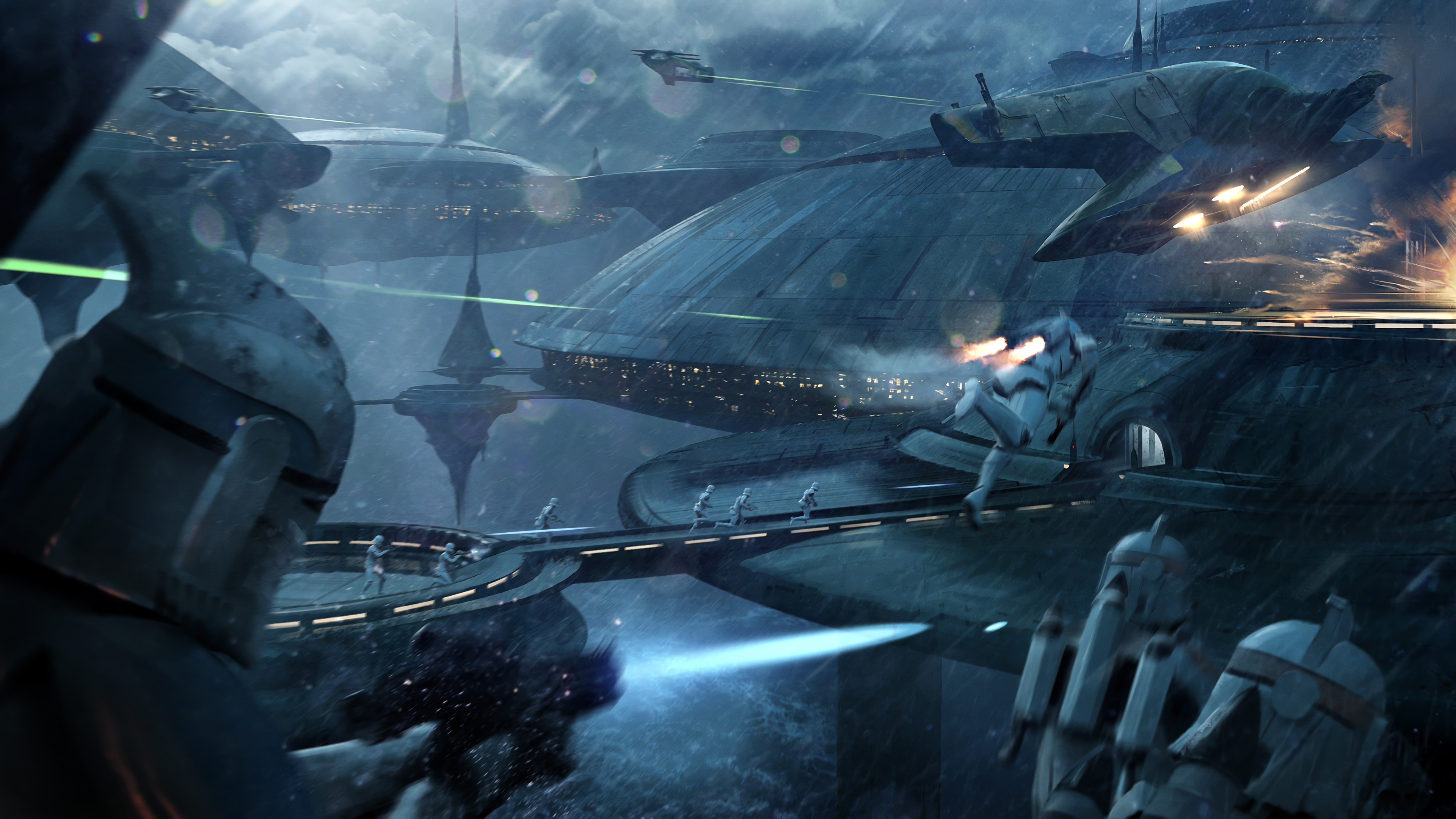 1swbattlefront Action Battlefront Fighting Futuristic Sci Fi Shooter Star Wars Wallpaper 3840x2160 1232863 Wallpaperup