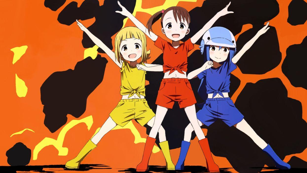 Konachan com - 261573 akamatsu yui kotoha (mitsuboshi colors) loli mitsuboshi colors sacchan (mitsuboshi colors) wallpaper