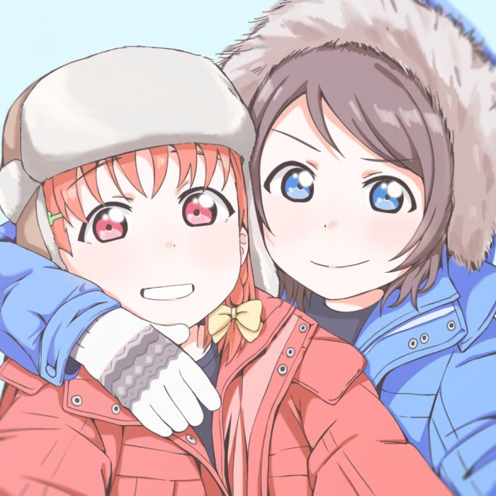 Love Live Sunshine Watanabe You Takami Chika Chikayou x wallpaper