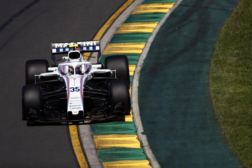 2018 Williams FW41 F-1 formula race racing wallpaper