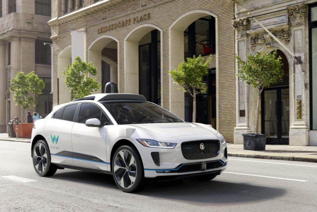 2018 Jaguar I-Pace EV400 Waymo Self-driving Vehicle wallpaper