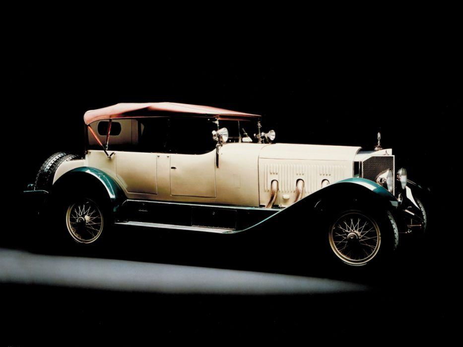 1924 Mercedes 28-95 PS Sport vintage retro 28-95 benz wallpaper