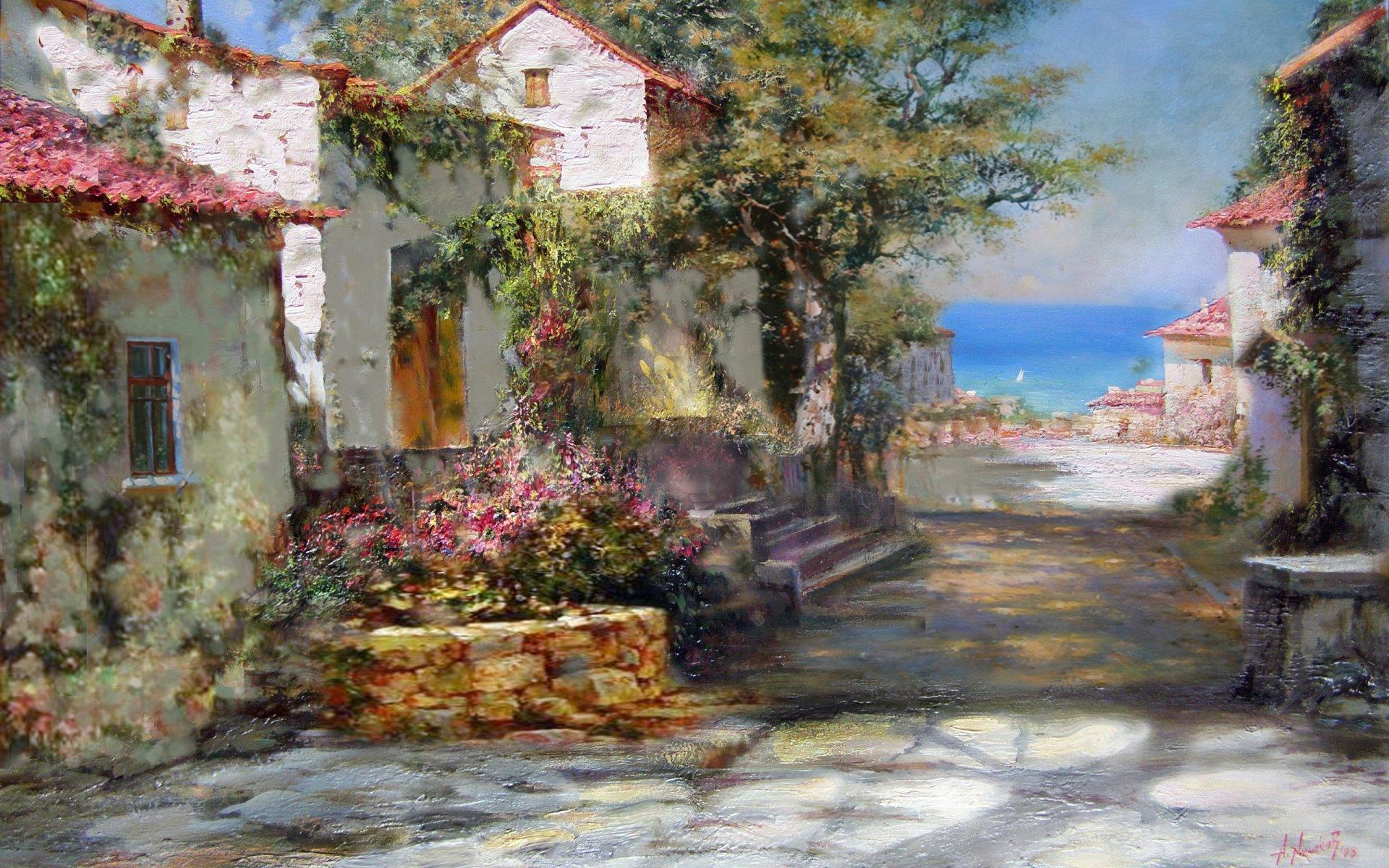 Art artistic painting painters wallpaper | 1920x1200 ...