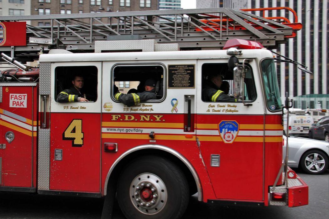 Firetruck Fire Truck Engine Emergency Semi Vehicle Feuerwehr