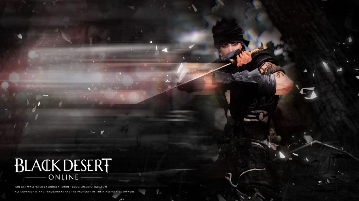 Black Desert Wallpaper 1920x1080: BLACK DESERT ONLINE Fantasy Mmo Online Action Fighting Rpg