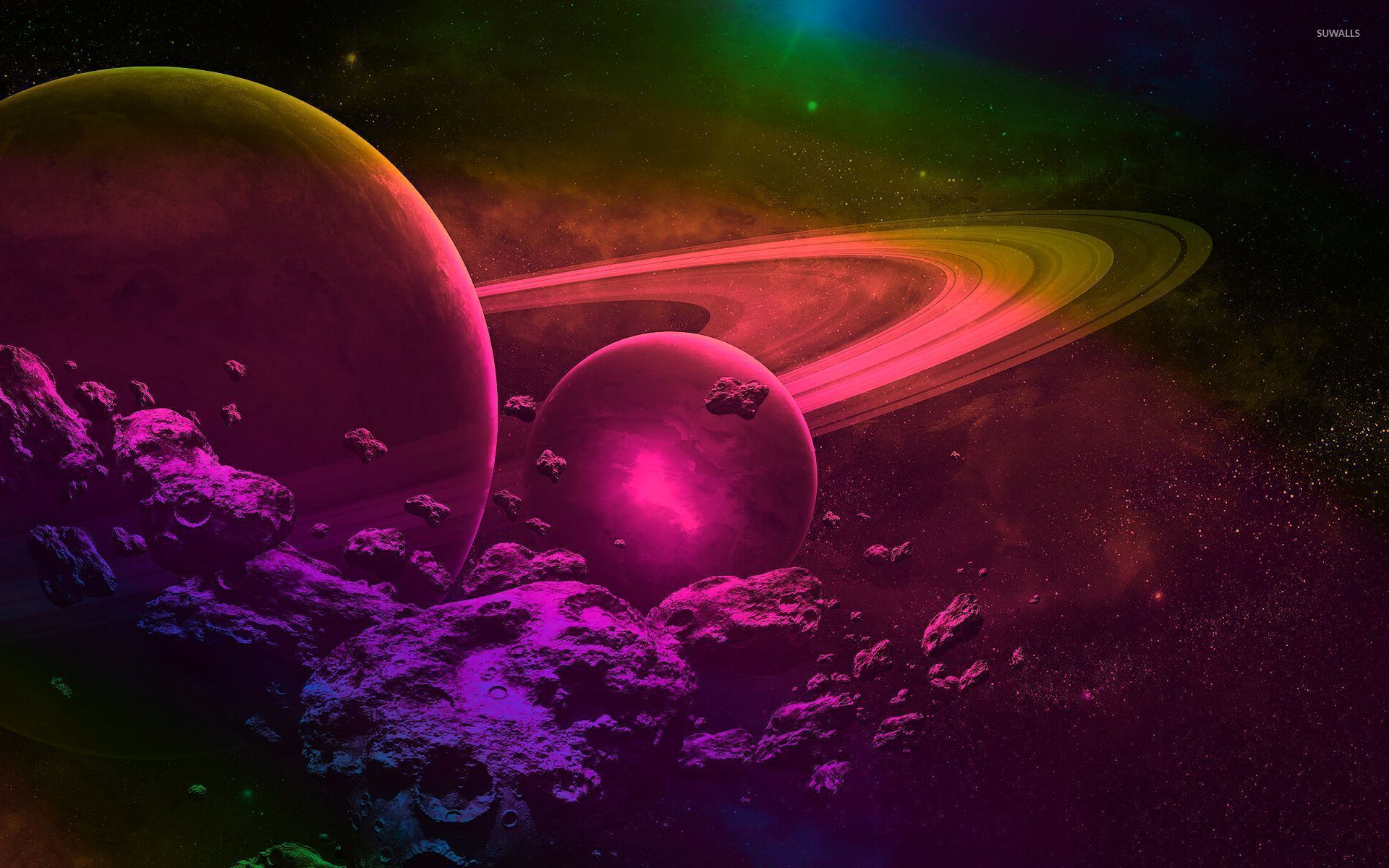 Pink and purple space nature wallpaper | 1920x1200 | 1259024 | WallpaperUP