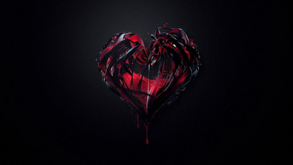 Crystal Hand Heart wallpaper