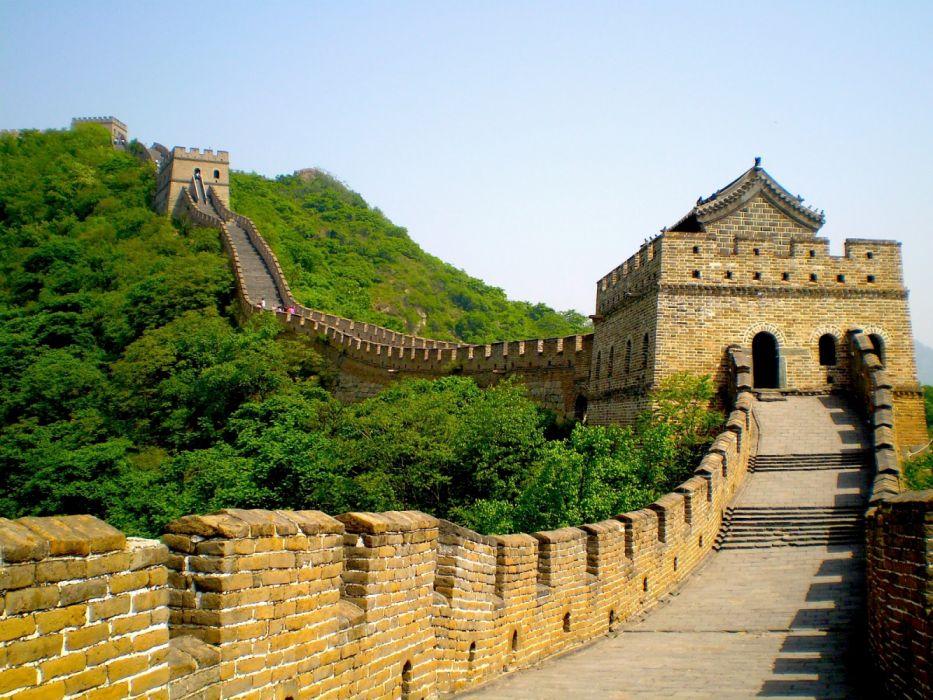 Great Wall China Gran Muralla Arquitectura Wallpaper