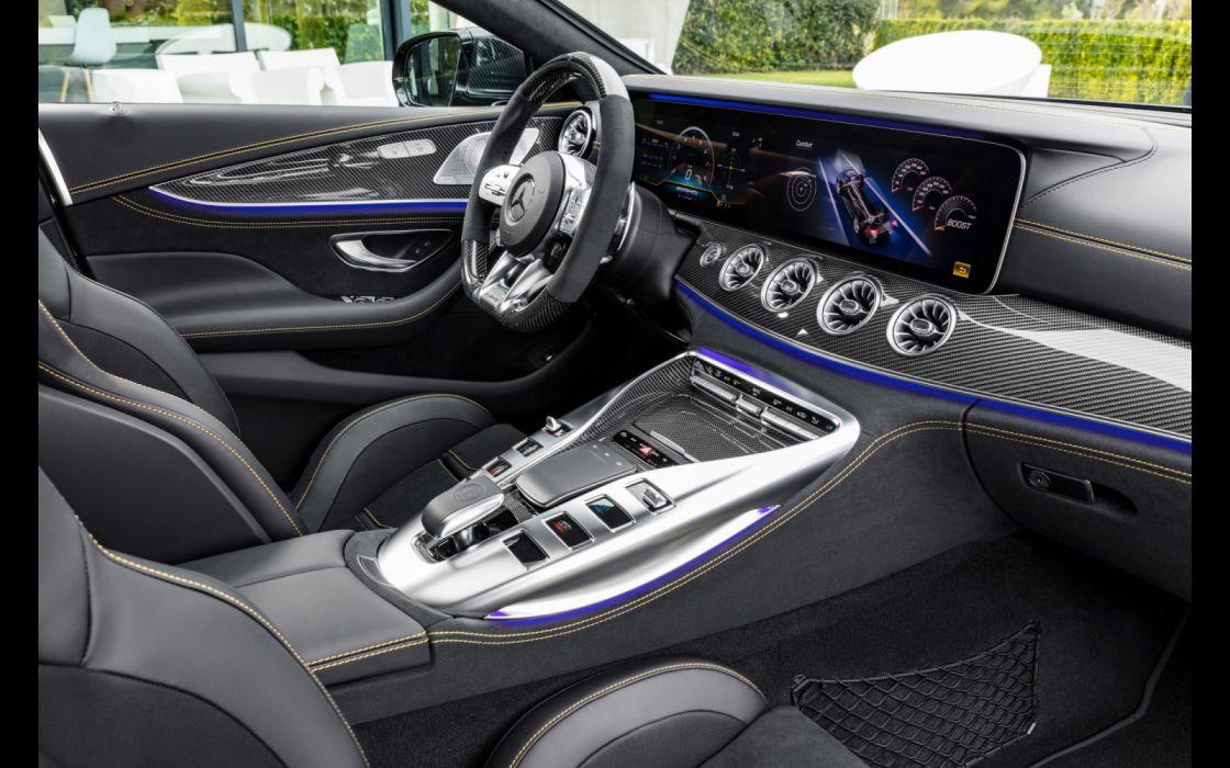 2019 Mercedes AMG GT 4-Door Coupe wallpaper