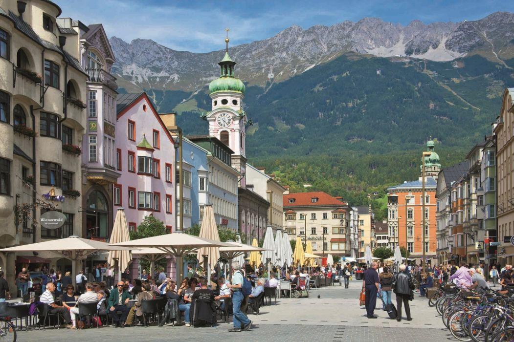 Innsbruck Wonderful Capital City of Tyrol Austria wallpaper