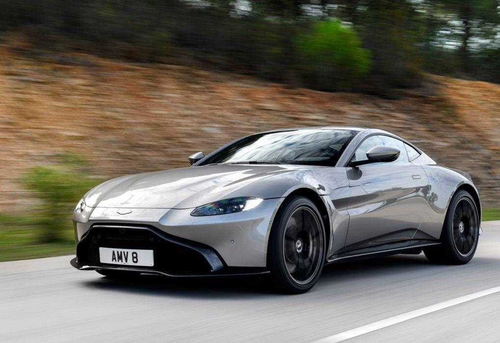 Aston Martin Vantage Tungsten Silver 2019 Wallpaper