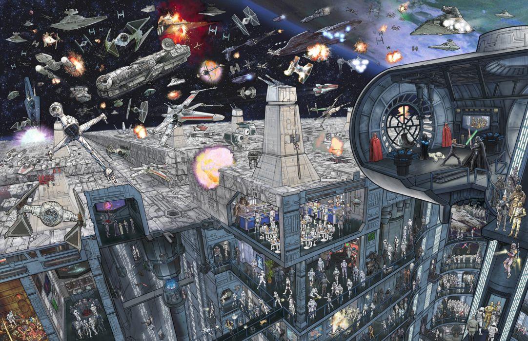 STAR WARS EPIC BATTLES - Death Star - Jeff Carlisle wallpaper