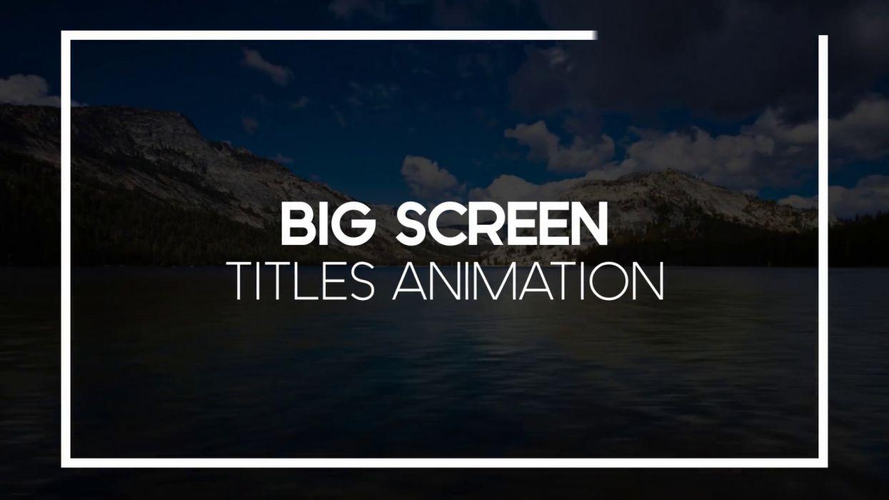 big screen text titles animation pack clean simple fullscreen line text srin ddwx wallpaper