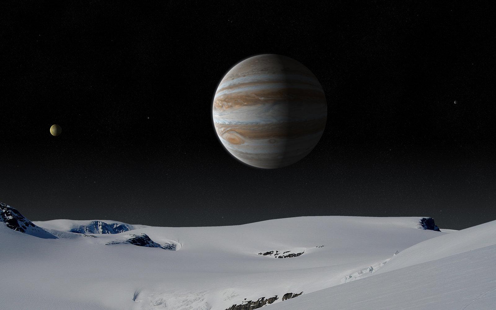 Картинки на рабочий стол планеты юпитер