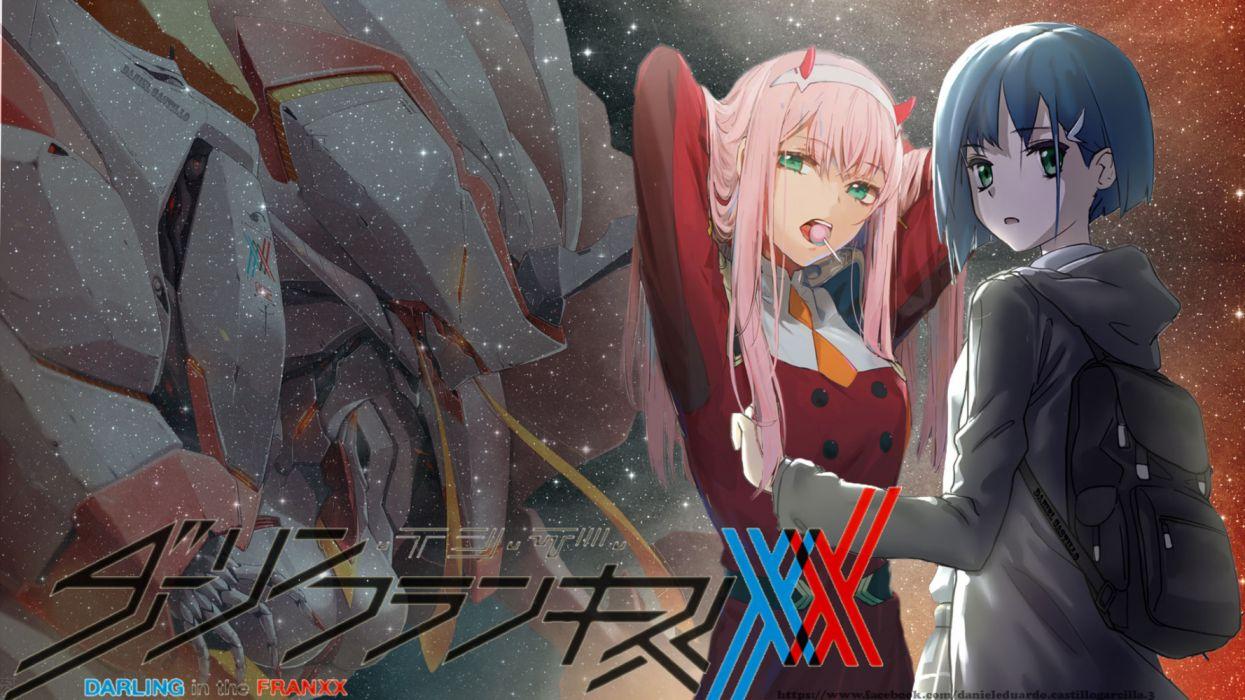 Darling In The Franxx Zero Two Ichigo Wallpaper