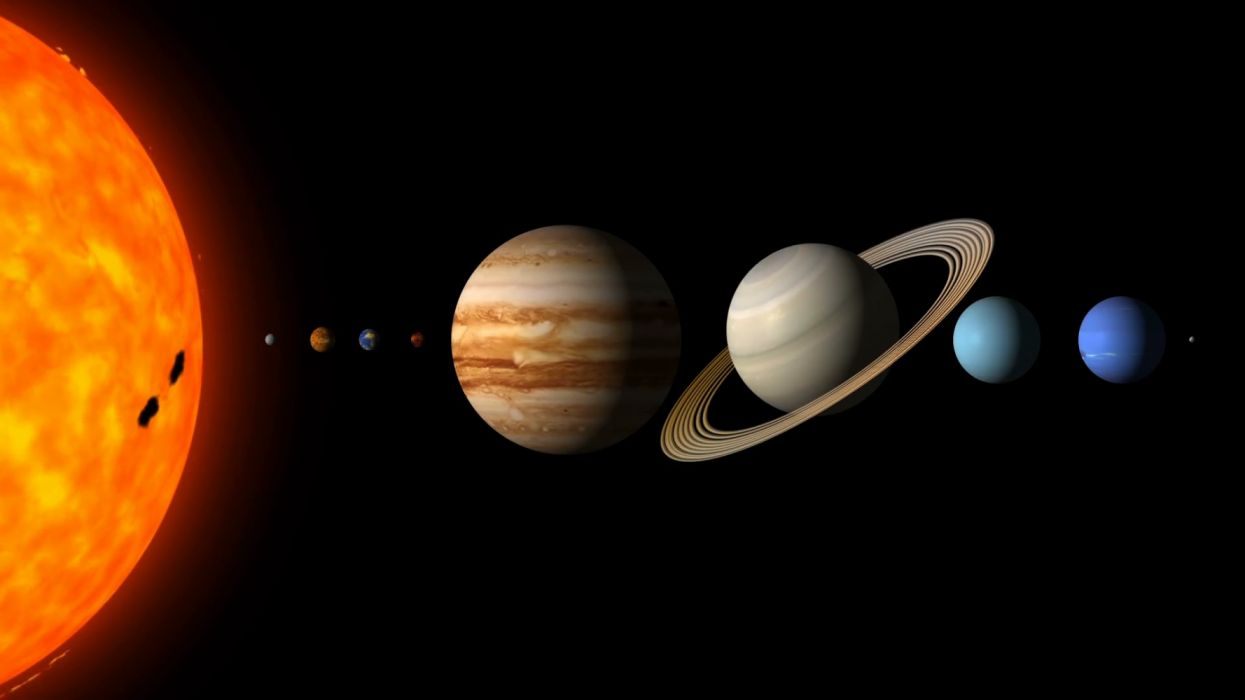 Solar System Wallpaper 1920x1080 1267897 Wallpaperup