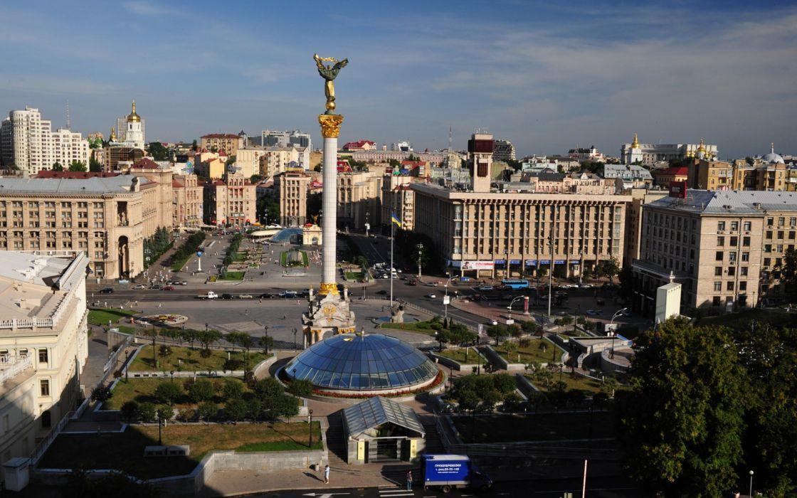 ciudad kiev capital ucrania europa wallpaper