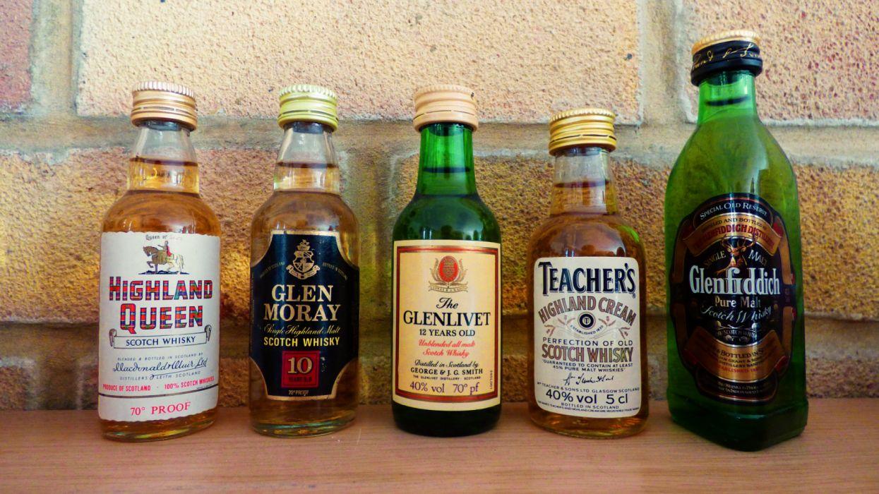 Whiskey Miniatures wallpaper