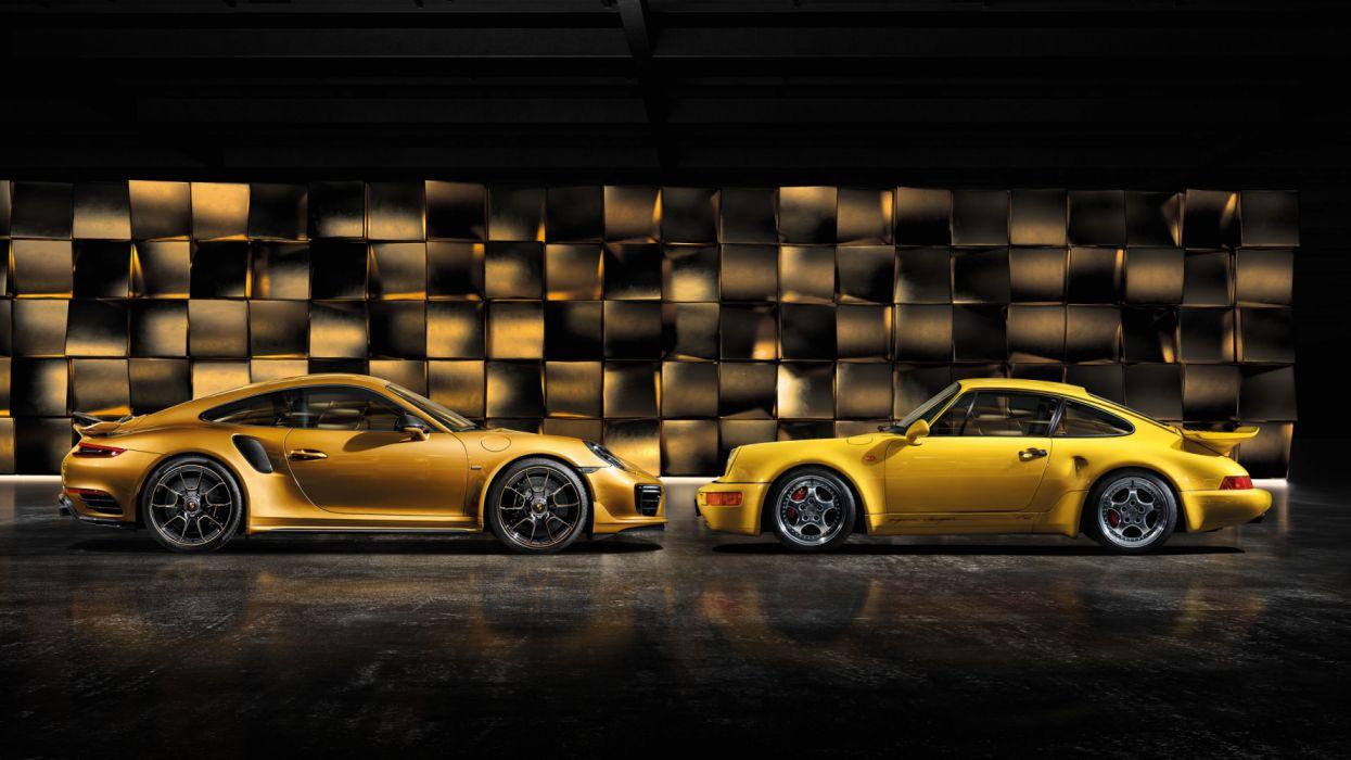 Porsche 911 Turbo S Exclusive Series 991 2 2017 Wallpaper