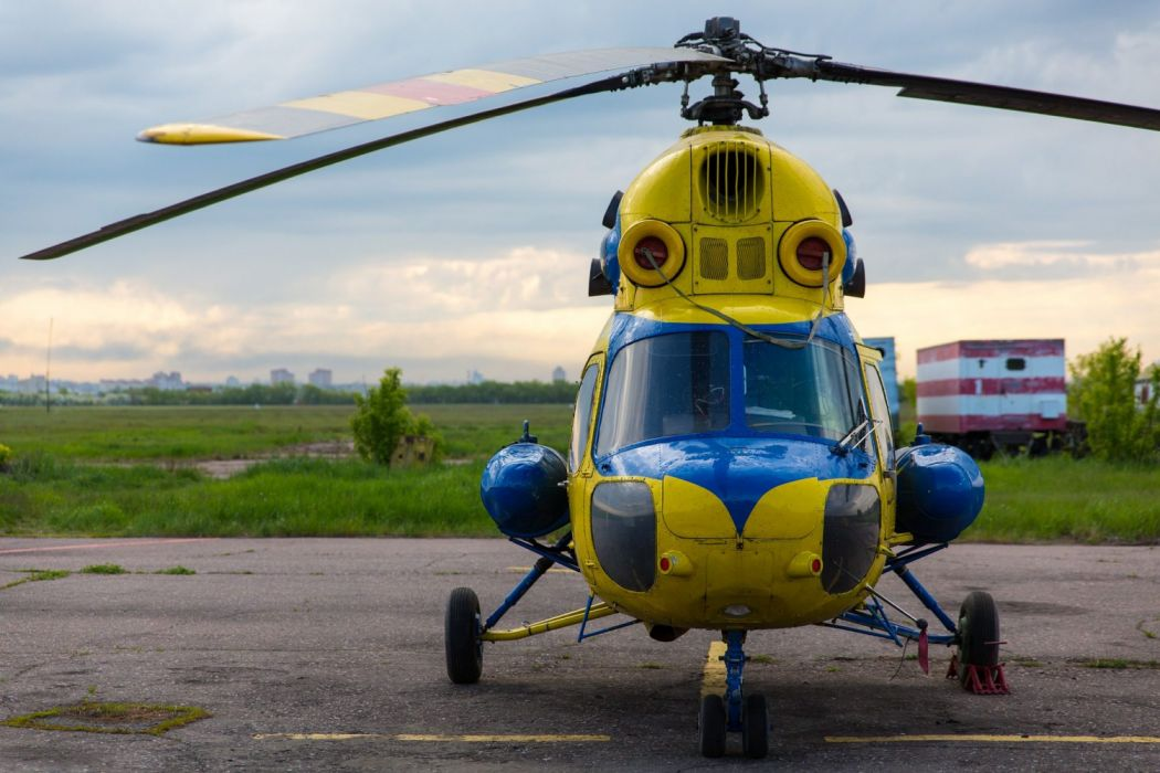 helicoptero volar helices cabina rotor wallpaper