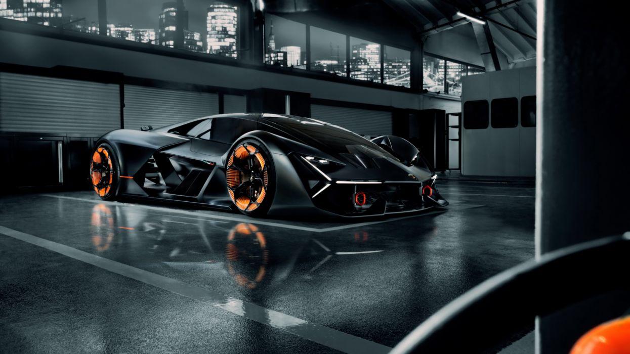 2019 Lamborghini Terzo Millennio 5k Hd Wallpaper