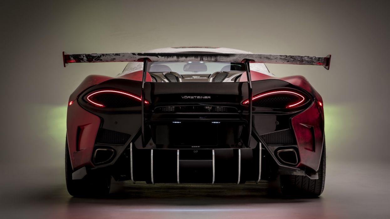 mclaren 570s rear view 5k-HD wallpaper