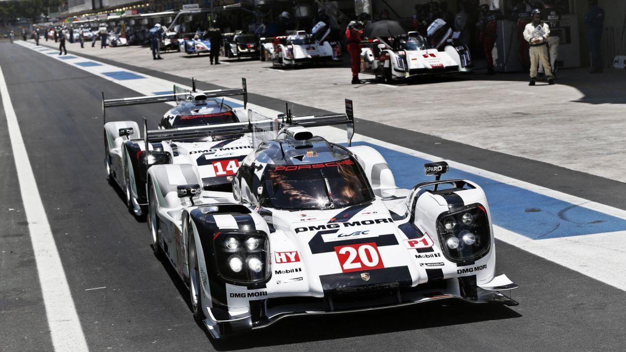 Porsche 919 Hybrid 9R9-14 LMP1 Race Car WEC World Endurance Championship Race Car 2014 wallpaper
