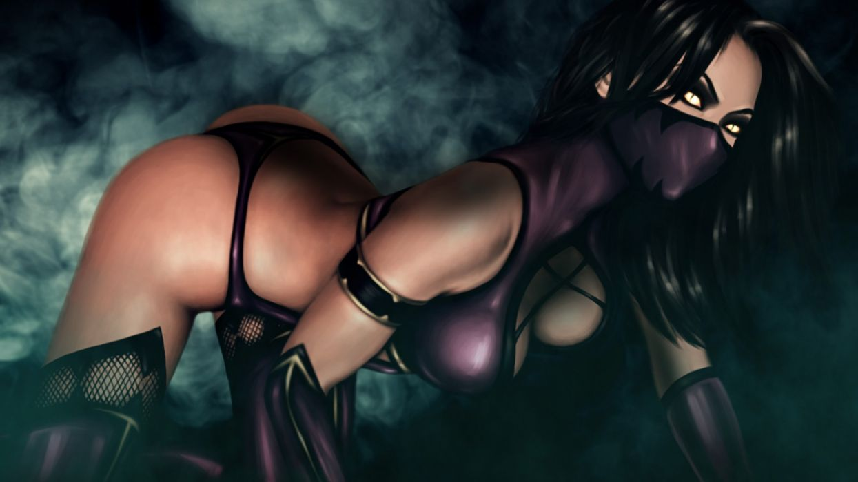 Games Mortal Kombat Mileena Fantasy Girl Wallpaper 1920x1080