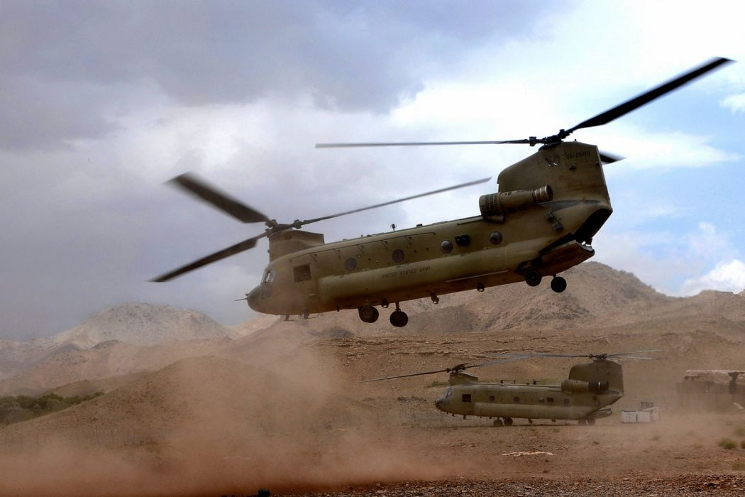 chinook helicoptero militar wallpaper