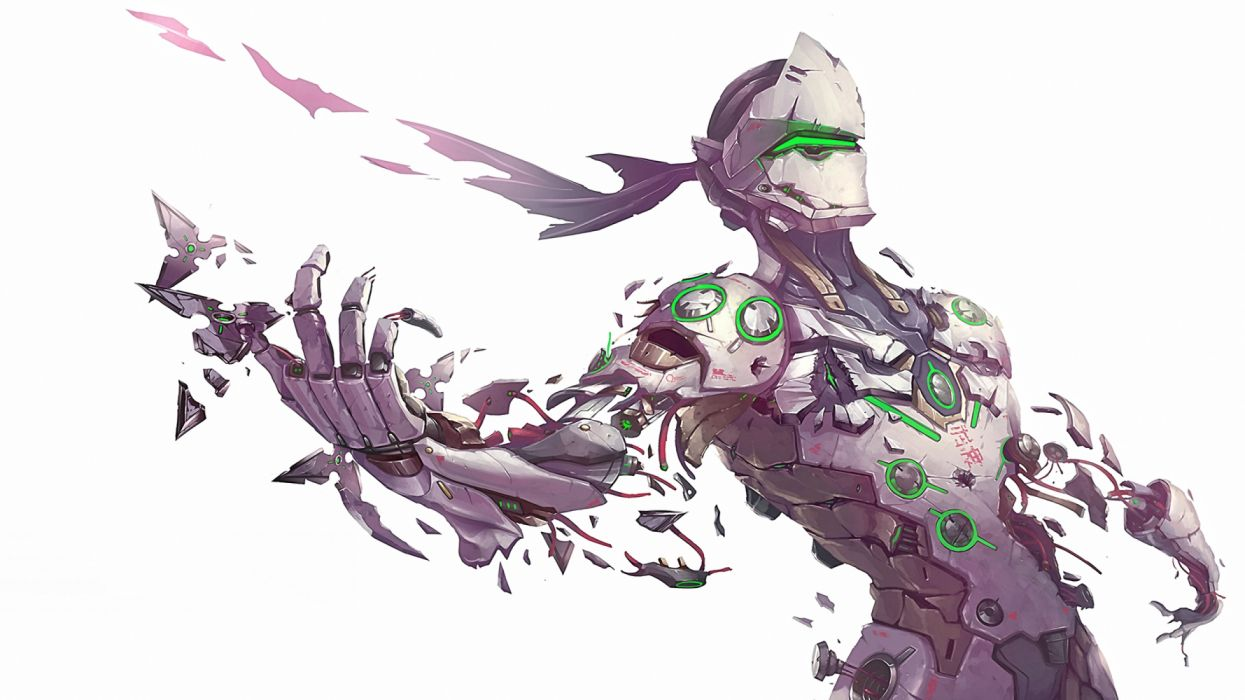 Overwatch Genji Shimada Wallpaper 3696x2078 1276291