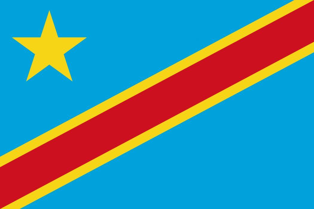 bandera republica democratica del congo africa wallpaper