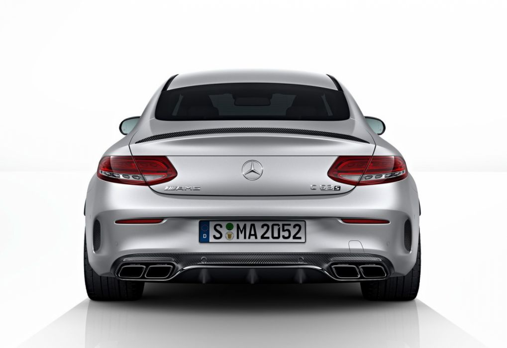 Mercedes Benz C63 Amg Coupe 2017 Wallpaper