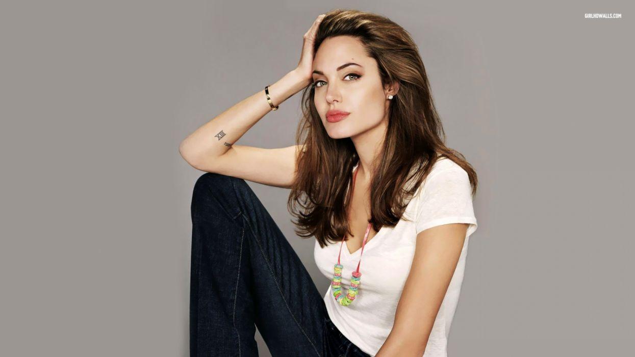 angelina jolie celebridad actriz americana wallpaper