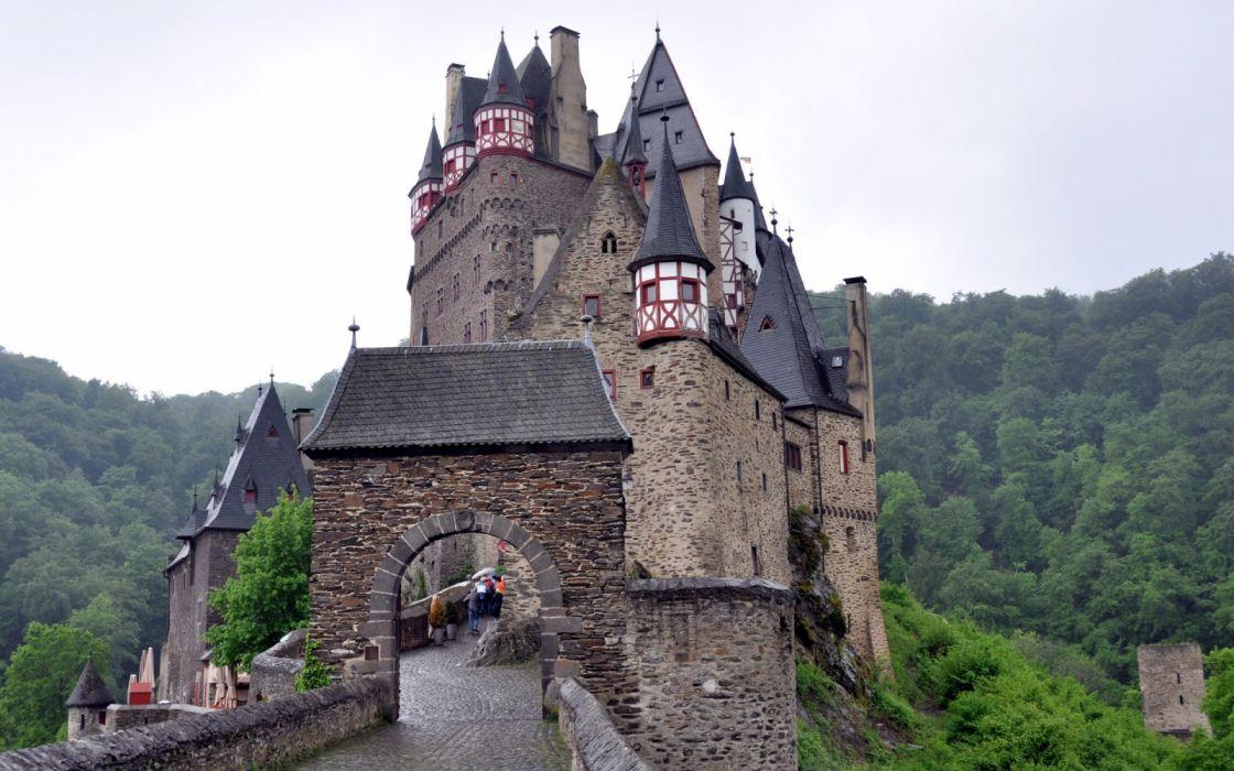 Castles in Germany Burg Eltz wallpaper