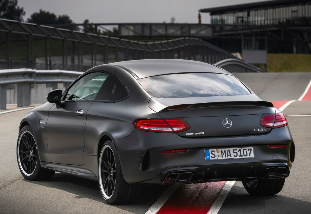 Mercedes Benz C63 S Amg Coupe 2019 Wallpaper 1600x1100