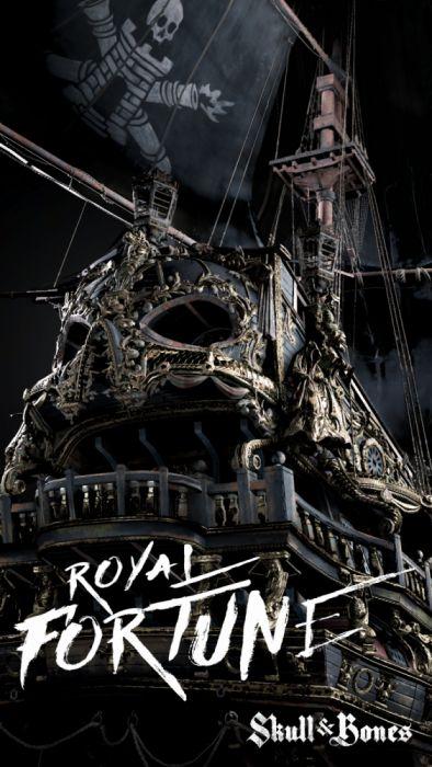 SNB Skull and Bones Mobile Wallpaper Royal Fortune wallpaper