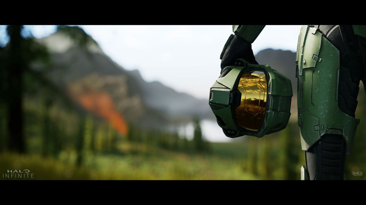 Halo Infinite Masterchief E3 343 Industries Kinematics Wallpaper