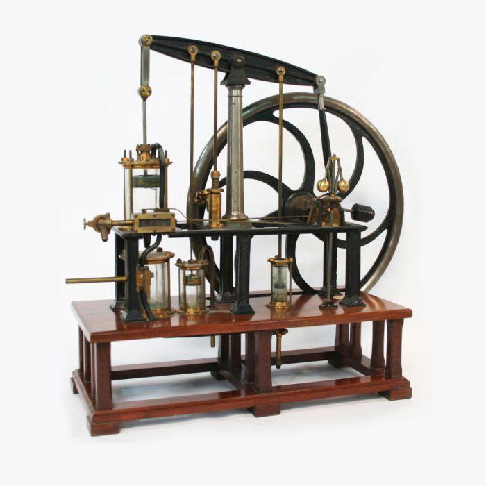 Modelo maquina vapor 1890 1910 tecnologia wallpaper