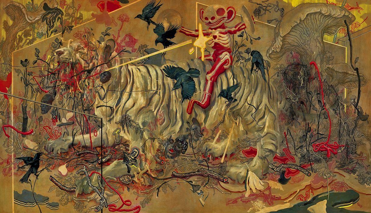 Tiger By James Jean 2010 Wallpaper 2992x1718 1287523