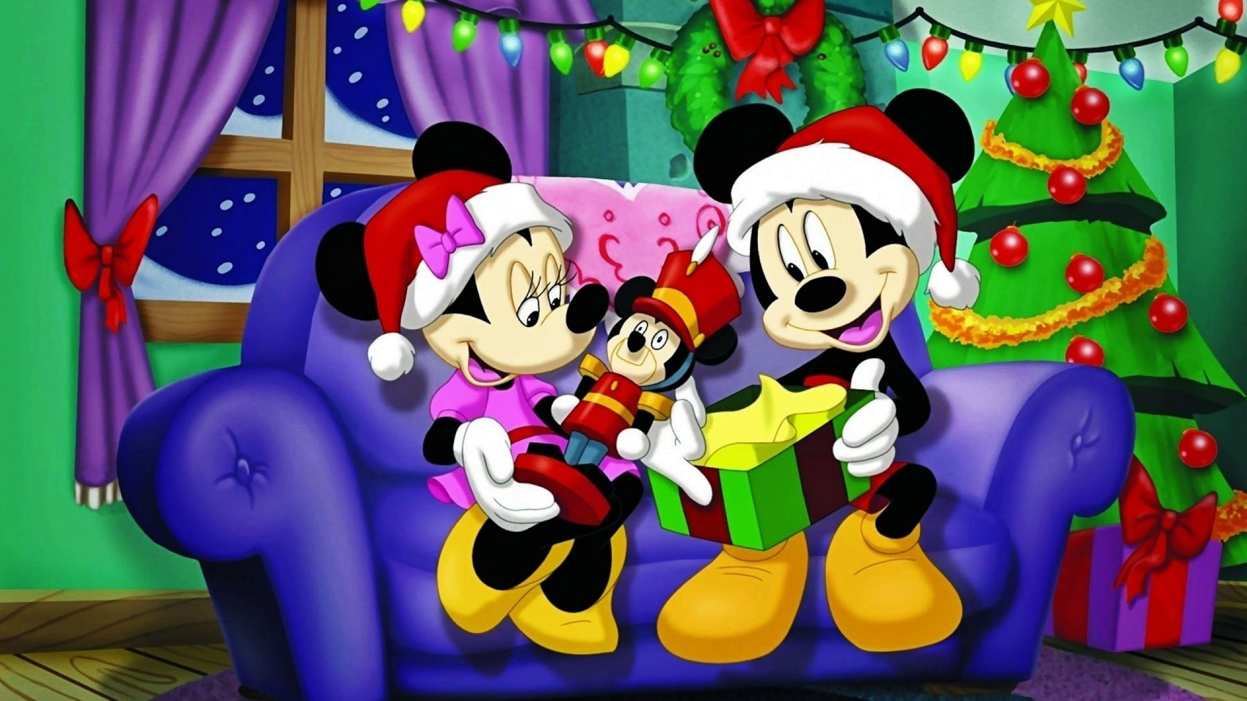 Mickey And Minnie Mouse Cartoons Wallpaper 2560x1440 1287541 Wallpaperup
