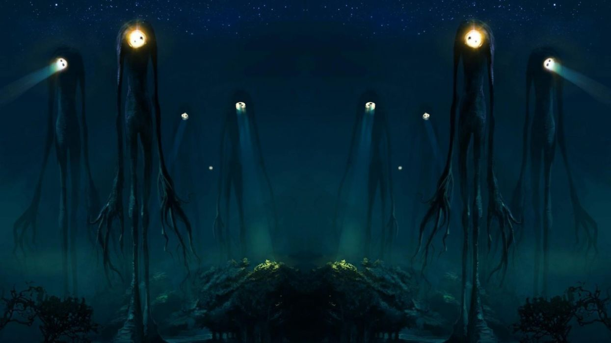 antasy Creature Slender night creatures Night wallpaper