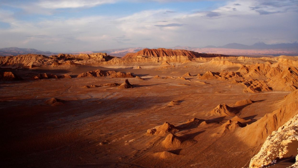 atacama desert south america nature wallpaper