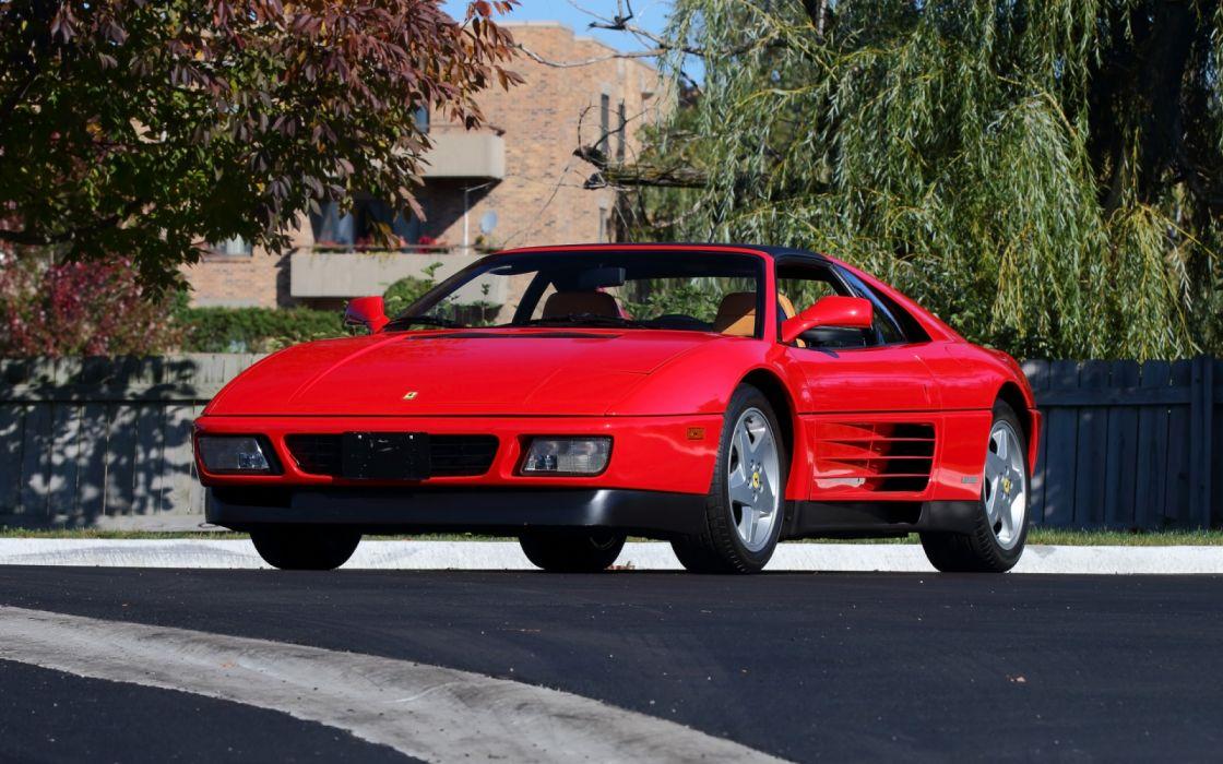1990 Ferrari 348 Ts Supercar Wallpaper 3840x2400 1289685